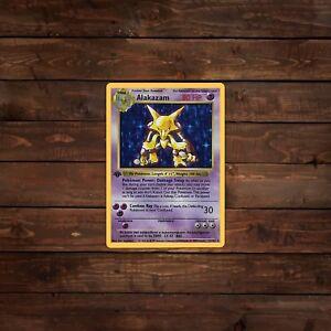 Decal//Sticker 8-Bit Alakazam Pokemon
