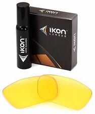 Polarized IKON Replacement Lenses For Oakley Jury Sunglasses HD Yellow