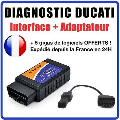 Audace Diagnosi Pro Ducati Moto + Multistrada Link + Adattatore 4-pin Obd2