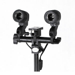 double head ac light socket photo swivel adapter bracket. Black Bedroom Furniture Sets. Home Design Ideas