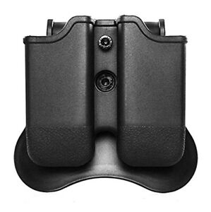For-Glock-17-19-19X-22-23-26-27-45-Double-Magazine-Pouch-Carrier-Paddle-Holster