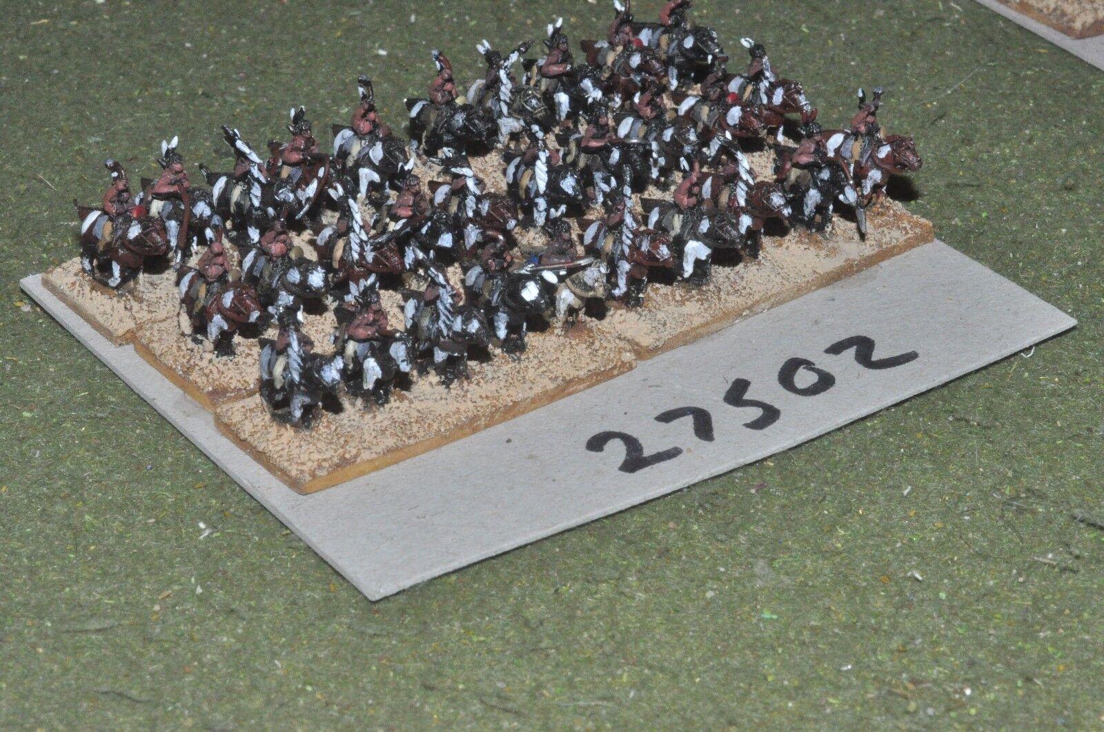 10mm ACW India-Guerreros 30 figuras-CAV (27502)