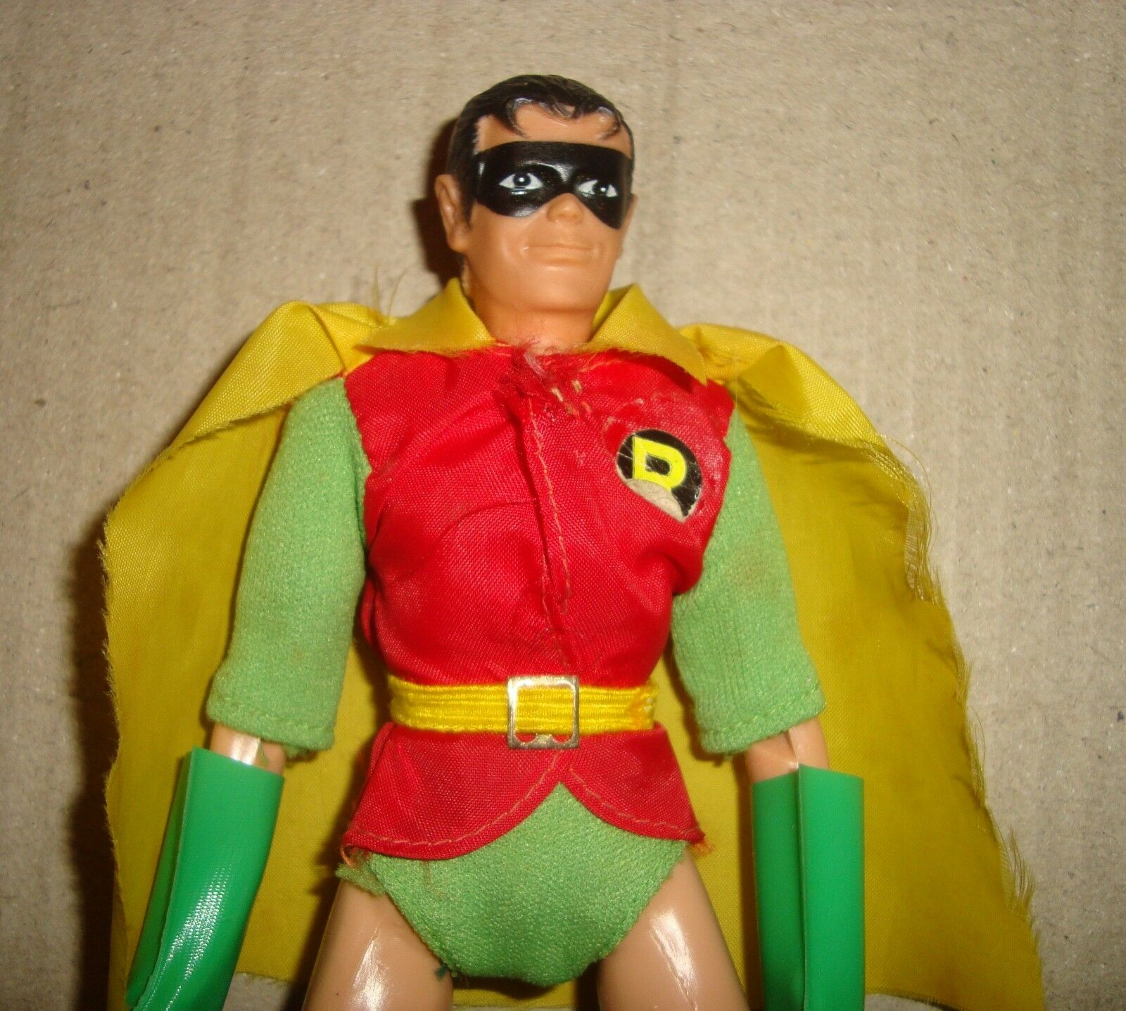 MEGO WORLD'S GREATEST SUPER-HEROES SUPER-HEROES SUPER-HEROES ROBIN BOX VERSION MEGO CORP. 1972 (BATMAN) e8240d