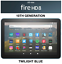 thumbnail 1 - NEW Amazon Fire HD 8 Tablet 32 GB - 10th Generation 2020 Release - TWILIGHT BLUE