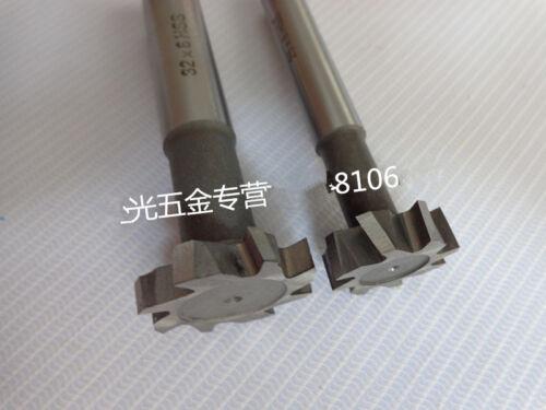 2Pcs Dia.20mm x4mm Slot High Speed Steel T-slot Cutter Endmills Milling Tools