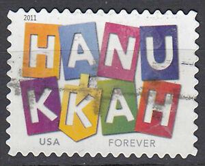 EE. UU. con sello Forever Hanukkah judía luces firmemente PROMOClÓN 2011/5812