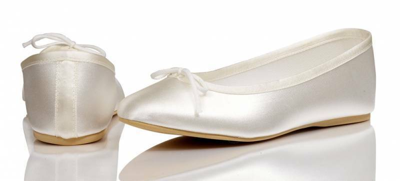 Ivory Or White Bridesmaids Flower Girl Communion Pumps Shoes All Sizes PRIMA