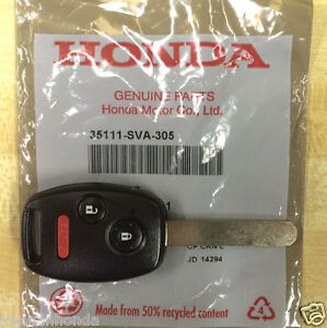 Genuine Oem Honda Civic Lx Keyless Remote Entry Key 2006