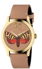 58f5689a344 Gucci YA1264031 GG Dial G-timeless 38mm Leather Stap Unisex Watch ...