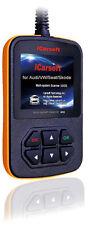 iCarsoft OBD2 OBDII Scanner Tool Code Reader ECU DTC CEL Audi / Volkswagen VW