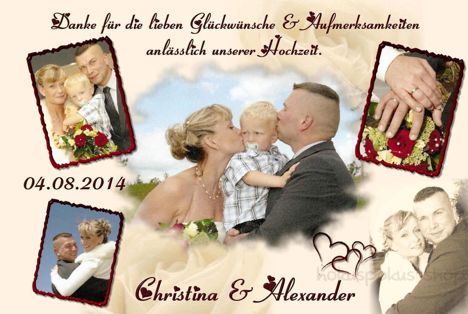 40 Danksagungskarten Hochzeit Danksagungen Fotokarte Hochzeitskarte Danke Foto  | Vorzugspreis  | Wunderbar