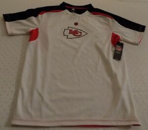 5afb18cb Details about Kansas City Chiefs Jersey Shirt Youth XL Size 18 Nice Logos  NFL