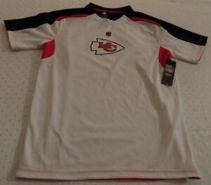 outlet store da97e ba7a3 Details about Kansas City Chiefs Jersey Shirt Youth XL Size 18 Nice Logos  NFL
