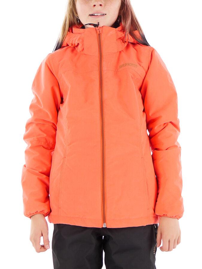 Brunotti Snowboard Giacca Giacca Invernale Invernale Invernale jordona Arancione Impermeabile Caldo 47b188