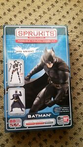 Sprukits-Model-Kit-2014-Bandai-Batman-The-Dark-Knight-Level-2-SALE