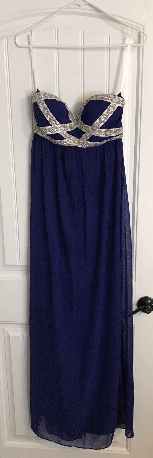 Para Mujer Vestido Formal  Azul Real  grandes ofertas
