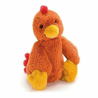 NEW Jellycat Bashful Rooster Plush Soft Toy (31cm)