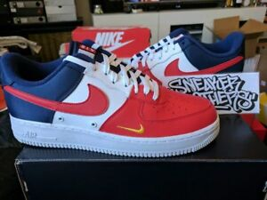 DétailsNike July Lv8 Blue Navy 823511 601 Red 4th Of '07 1 Gold Force One Low Air White 3R4LAj5q