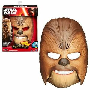 New in box!!!!! STAR WARS THE FORCE AWAKENS CHEWBACCA ELECTRONIC TALKING MASK