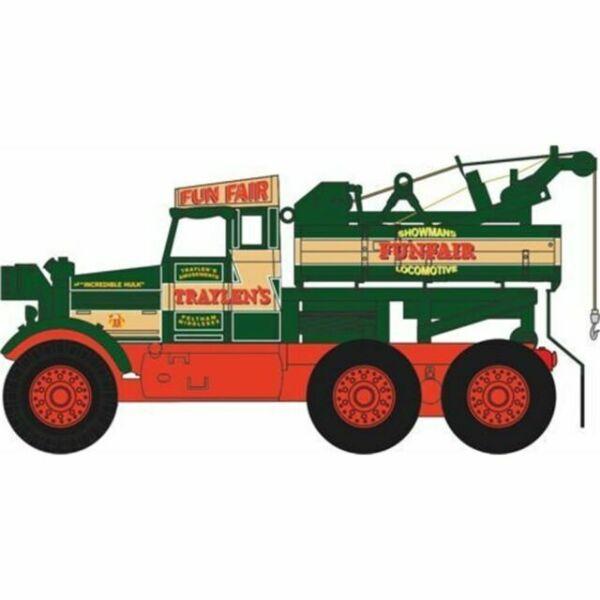 Oxford 76SP003 00 LKW Pioneer Recovery Traktor Traylens Funfair