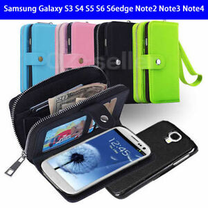Wallet-Case-For-Samsung-Galaxy-S3-S4-S5-S6-S6edge-Note2-Note3-Note4-Wallet-Coin