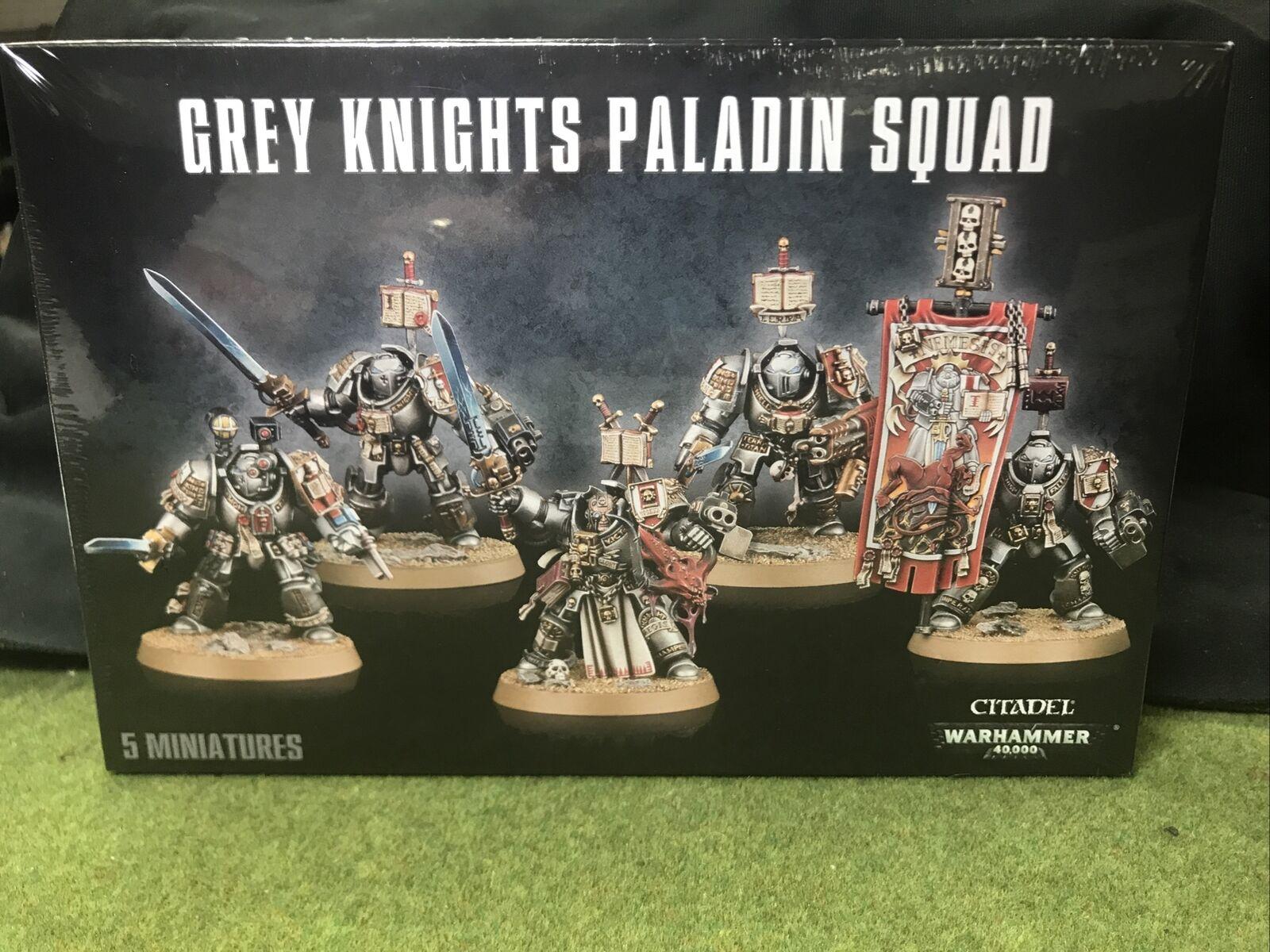 warhammer 40k Grey Knights-Paladine squad des Grey Knights NOUVEAU /& NEUF dans sa boîte *
