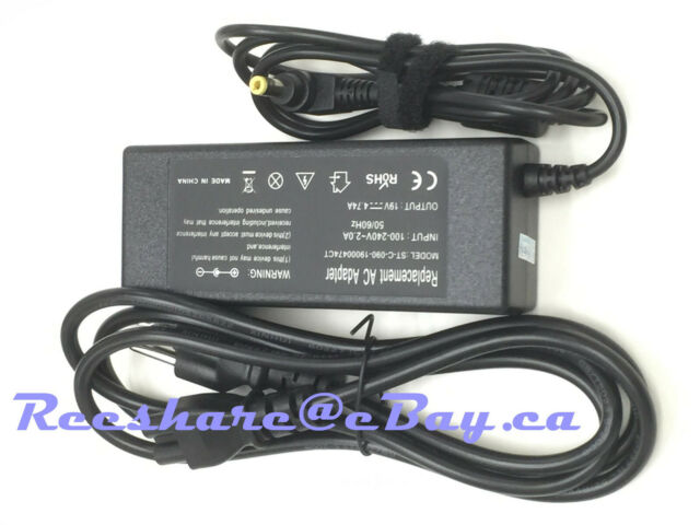 AC adapter charger for Toshiba PA-1600-07 PA5034U-1ACA Satellite L350 L300-O4N