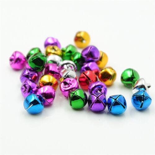 XMAS Cross Jingle Bell Dangle Charm Pendant Jewelry Making DIY Pet Bell 10-30mm