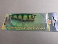 Custom Painted Bass Pro Shops Tourney Special Pop N Splash Popper,dillon's Perch