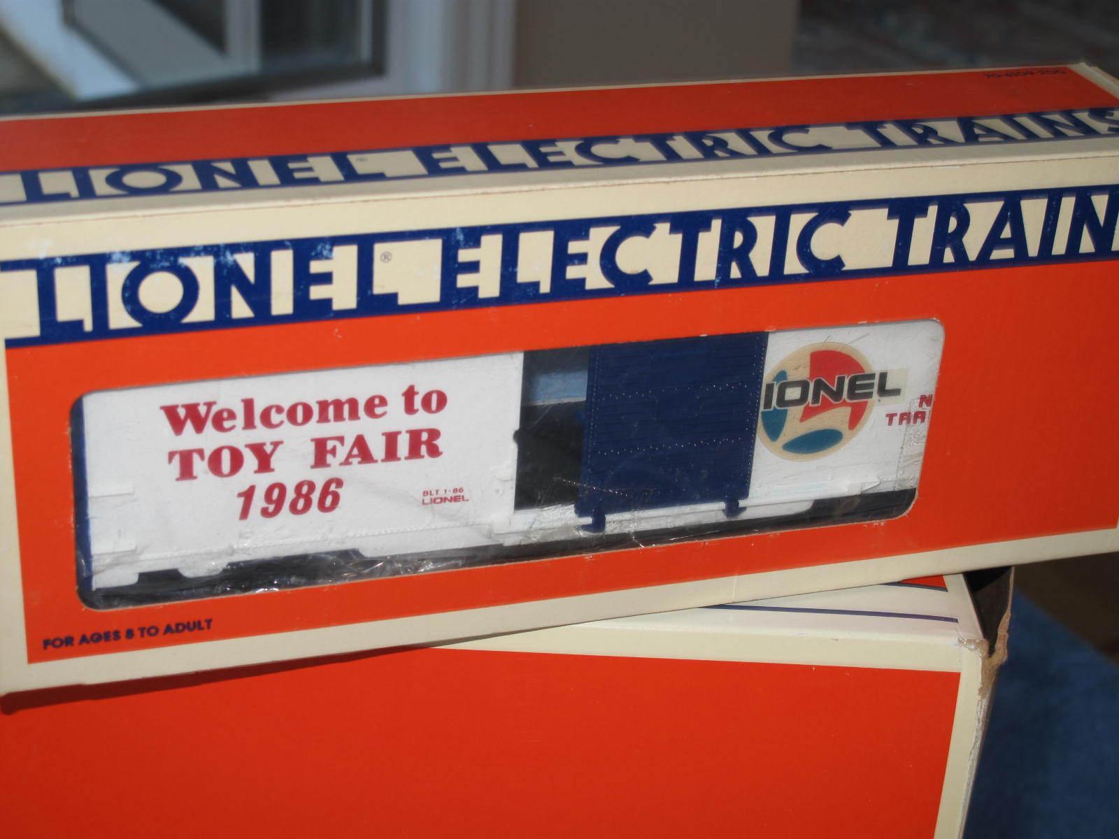 1986 Lionel 6-7525 Toy Fair Box Car L0953