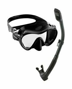 OUTAD Diving Snorkeling Freediving Mask Snorkel Set