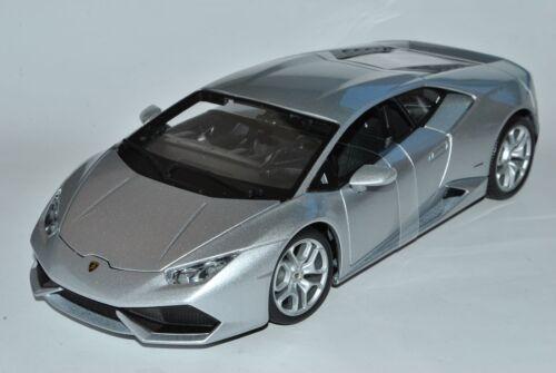 Lamborghini Huracan LP6410-4 Coupe Silber Ab 2014 1//18 Bburago Modell Auto mit..