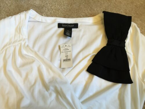 House White Market Size Womens Black Xs And Color Blouse 5pq6P