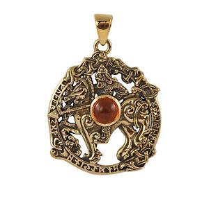 Norse bindrune amulet asatru pendant odin allfather