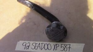 92 SEADOO XP 587 GAS FUEL TANK CAP W/ FILLER NECK & HOSE 275500071 275500070