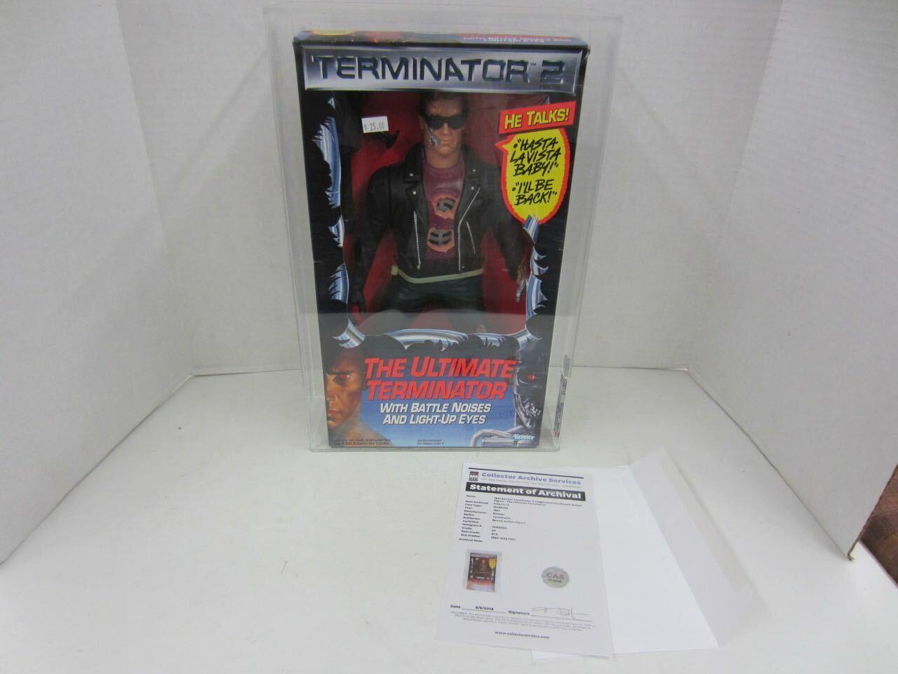 Web oficial Vintage 1991 Kenner Terminator 2 12  figura figura figura el último Terminator en caja original CAS 80  Hay más marcas de productos de alta calidad.