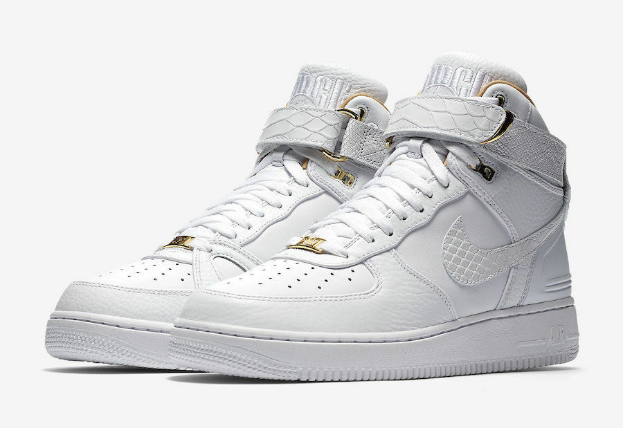 Nike Air Force 1 Hi Just Don AF100 Don C White Gold AO1074-100 Men size 8-13 Cheap women's shoes women's shoes