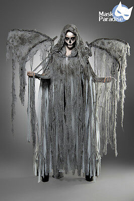 Angel of Death Kostüm Gothic Fasching Karneval Damen Verkleidung Halloween NEU