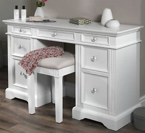 Gainsborough White Dressing Table Very Solid White