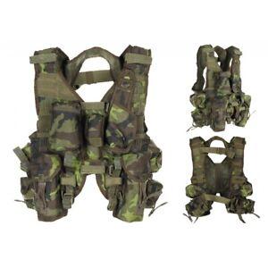 Original-CZ-Tactical-Weste-M-95-CZ-tarn-Einsatzweste-Militaer-Paintball-Taschen