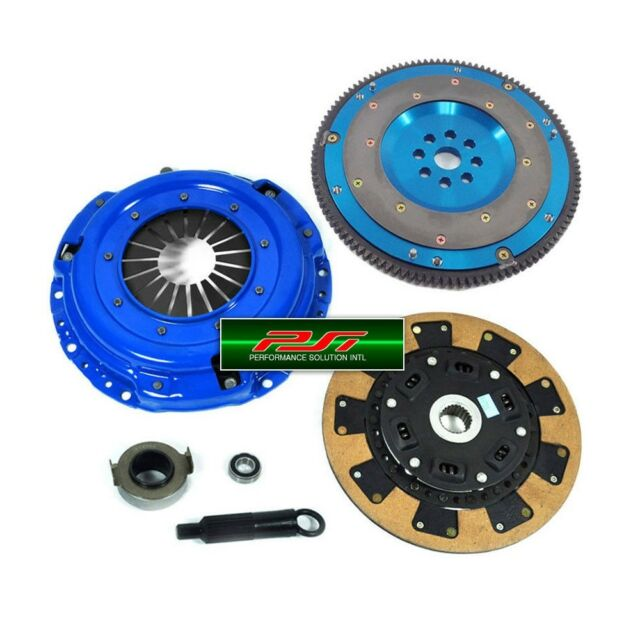 PSI KAVLAR CLUTCH KIT+8LBS FORGED ALUMINUM FLYWHEEL 1992