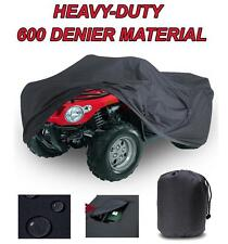Trailerable ATV Cover Arctic Cat for model 500i 500i 4X4 AUTOMATIC 2002 Black