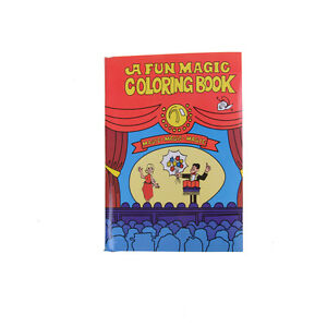 Fun Magic Coloring Book Magic Tricks Best For Children Stage Magic ...