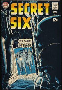 SECRET-SIX-7-1969-FN-034-An-Eye-For-An-Eye-034-DC-COMICS