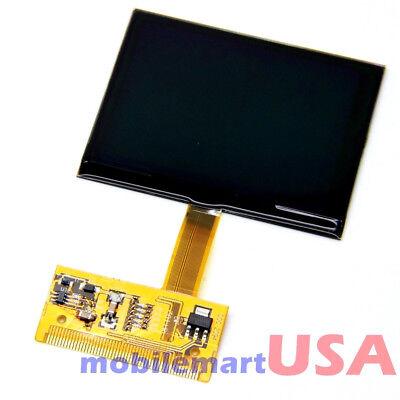 Car Cluster Speedometer VDO LCD Display Screen For 99-05 Audi A4 A6 TT 8N Series