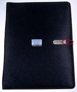 Leichte-Aktenmappe-Businessmappe-Konferenzmappe-Schreibmappe-A4-Format