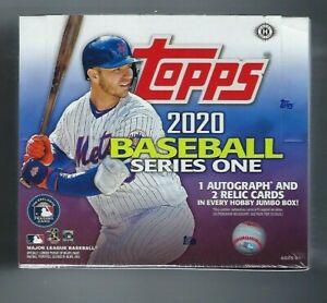 2020 托普斯系列 1 棒球卡超大盒 + 2 銀色包