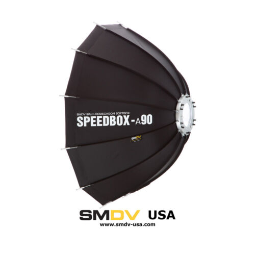 "90cm SMDV Alfa Speedbox-Softbox A90B 36/"" con Montaje Bowens S-Type"