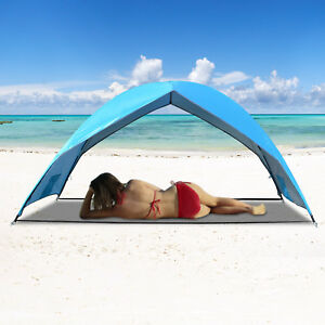Image Is Loading Sun Shade Beach Portable Canopy Outdoor Large Size