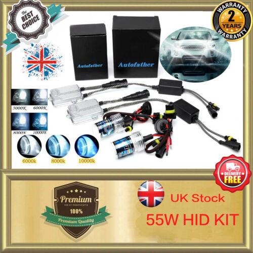 55W HID Xenon HB3 Car Headlight Conversion KIT For Land Rover Range Rover Evoque